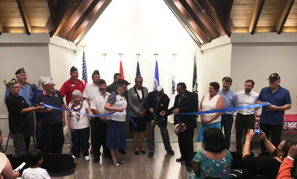 Vacaville Vets Hall 2019 Rededication