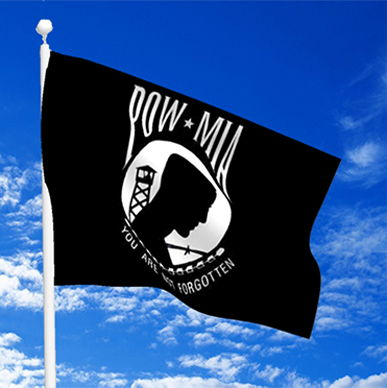 POW • MIA Flying Flag Vaca Vets